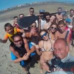 Selfie passeio de SUP na Ria