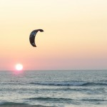 Sunset Kitesurf in Barra - Aveiro - Portugal