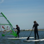 Windsurfing lesson in Riactiva
