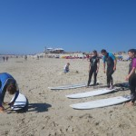 surfing lesson - Barra - Aveiro