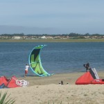 Kitesurfing launch