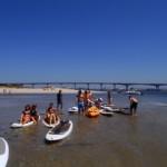 Passeio de sup / Paddle Aveiro - Riactiva a 45 minutos do Porto