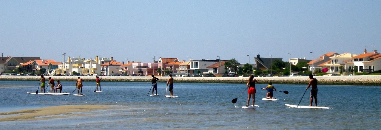 Escola de sup / Stand up paddle em Aveiro - Portugal