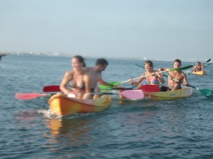 Kayak games, camps in  riactiva - Aveiro - Porto - Portugal