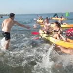 Jogos e aulas de canoagem e kayak na ria de Aveiro