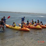 Kids camp kayak , surfing, watersports in Aveiro Portugal