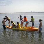 Kayak e canoagem jogos Aveiro Portugal